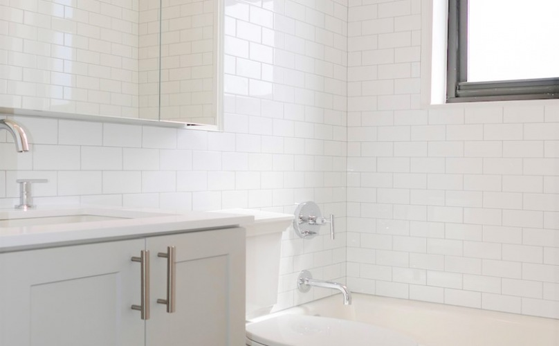 Renovated Bathroom Finishes